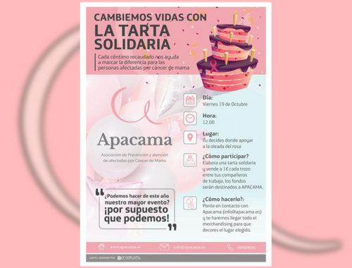 Tarta solidaria Apacama