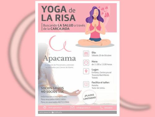 Taller yoga cancer mama