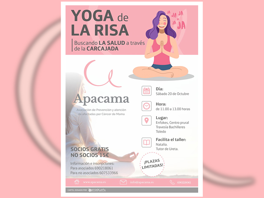 Taller yoga cancer mama